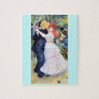 Man woman dancing renoir painting jigsaw puzzles
