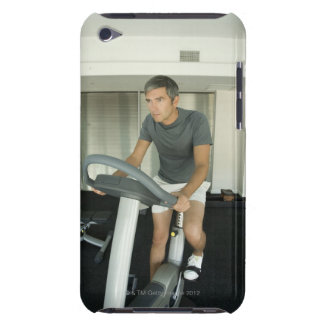 Man working out in a gym 2 iPod touch cover