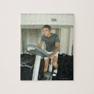 Man working out in a gym 2 jigsaw puzzle