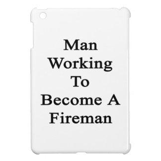 Man Working To Become A Fireman iPad Mini Case