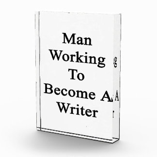Man Working To Become A Writer Awards