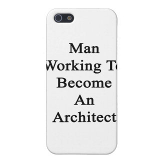 Man Working To Become An Architect iPhone 5 Case