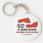 Man Zone Keychain
