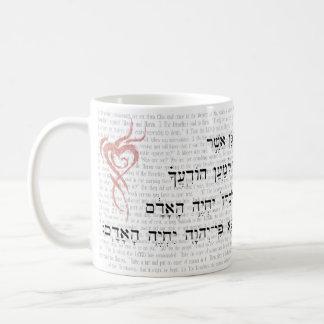 Maná - 8:3 del éxodo 16 y de Deuteronomy Taza De Café