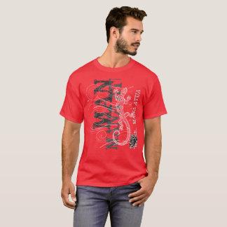 Mana Atua - Power from the gods (silver writing) T-Shirt
