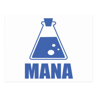 Mana colection by Druid Design Postcard