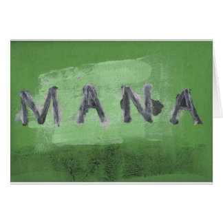 Mana ( green) card