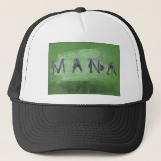 Mana ( green) trucker hat
