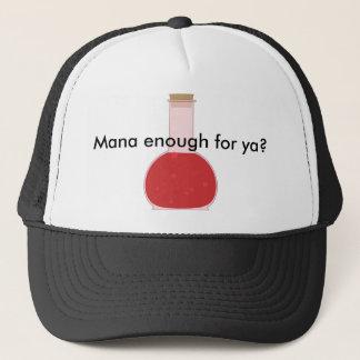 Mana vial trucker hat