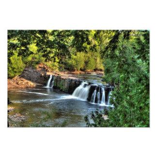 Manabezho Falls, Michigan Photo