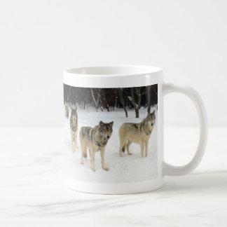 Manada de lobos taza clásica