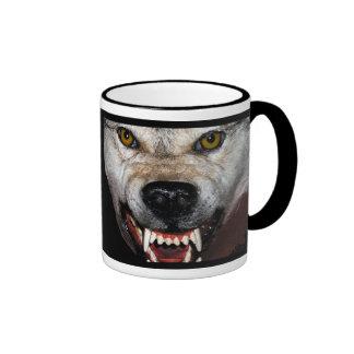 Manada de lobos tazas de café
