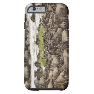 Manada masiva del Wildebeest durante la migración, Funda De iPhone 6 Tough