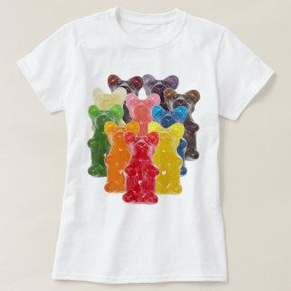 Manadas gomosas lindas divertidas del oso camisas