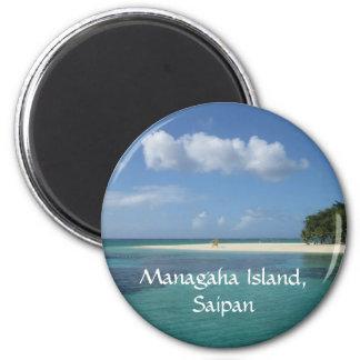 Managaha Island Fridge Magnets