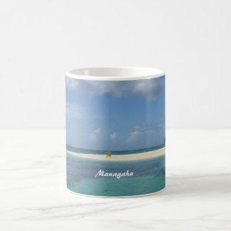 Managaha Classic White Coffee Mug