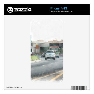 Manageable traffic skin for iPhone 4