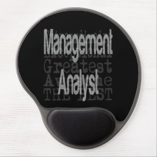 Management Analyst Extraordinaire Gel Mouse Pad