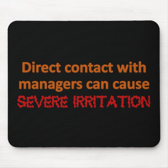 Management Contact Mouse Pad