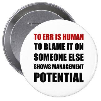 Management Potential Button