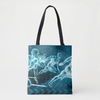 Management Solution Abstract as a Business Concept Tote Bag