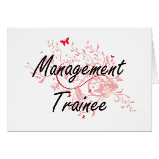 Management Trainee Artistic Job Design with Butter Card