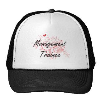 Management Trainee Artistic Job Design with Butter Trucker Hat
