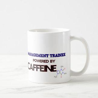 Management Trainee Powered by caffeine Mug