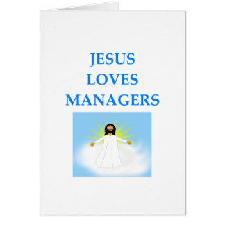 MANAGER CARD