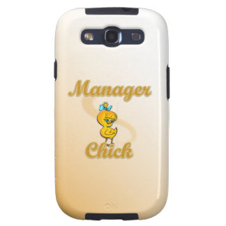 Manager Chick Samsung Galaxy SIII Case