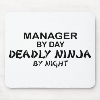 Manager Deadly Ninja by Night Mouse Pad