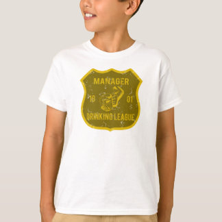 Manager Drinking League T-Shirt