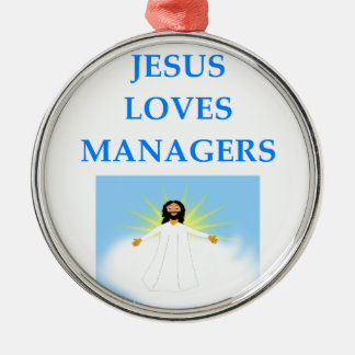 MANAGER METAL ORNAMENT