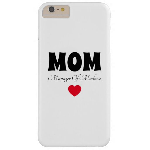 Manager Mom Barely There iPhone 6 Plus Case