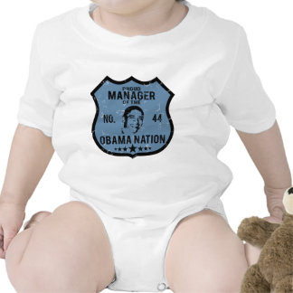 Manager Obama Nation Bodysuit
