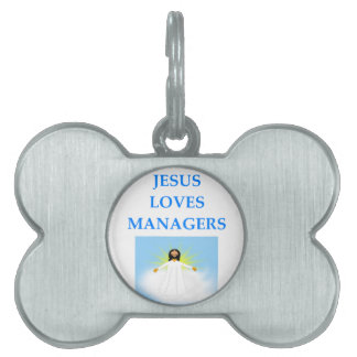 MANAGER PET ID TAG