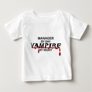 Manager Vampire by Night Baby T-Shirt