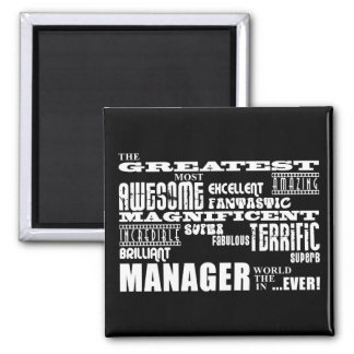 Managers & Bosses : Greatest Manager Refrigerator Magnets