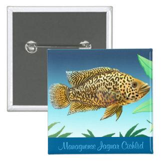 Managuense Jaguar Cichlid Pin