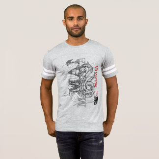 Manaia - Guardian (white t-shirt) T-Shirt