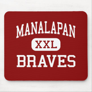 Manalapan - Braves - High - Englishtown New Jersey Mouse Pad