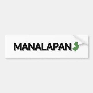 Manalapan, New Jersey Bumper Sticker