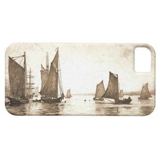 Mañana 1889 del río Hudson iPhone 5 Coberturas