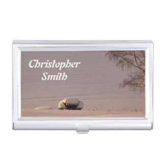 Mañana #1 de febrero caja de tarjetas de negocios