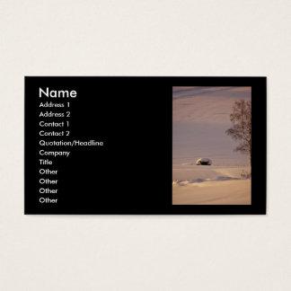 Mañana #1 de febrero tarjetas de visita