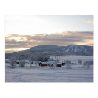 Mañana #1 del invierno tarjetas postales