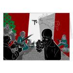 Mañana americana de Navidad Tarjeta De Felicitación
