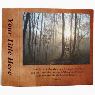 "Mañana brumosa en el bosque carpeta 2"""
