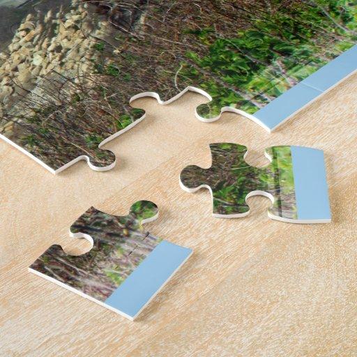 Mañana brumosa en el punto de Nobska - Cape Cod mA Puzzle Con Fotos