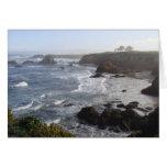 Mañana de California Coastal Tarjeta